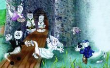 Una familia fantasmal