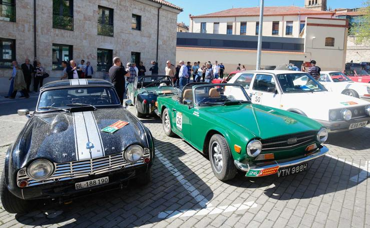 Los mejores coches visitan el Museo de Automoción de Salamanca