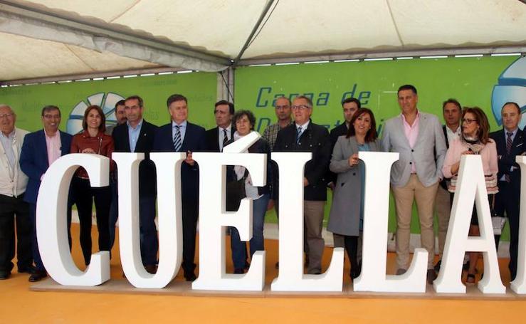 Inauguración de la Feria de Cuéllar
