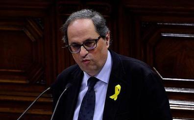 ERC deja solo a Torra en la defensa de De Gispert