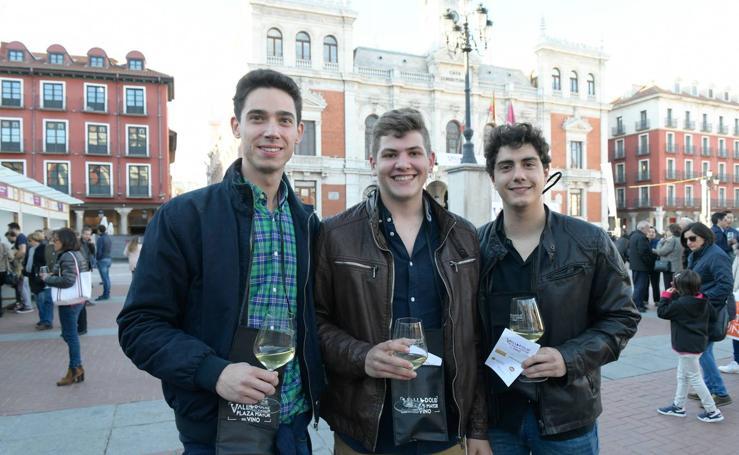 'Valladolid, Plaza Mayor del Vino' el viernes por la tarde
