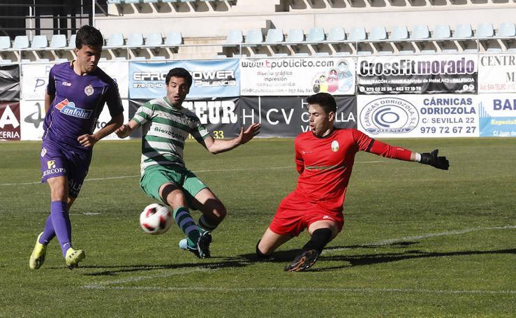 Palencia Cristo Atlético 3 - 0 CD La Virgen del Camino