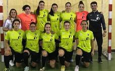 El equipo del Intersala Bodegas Perahigos, campeón de la Primera División Regional Femenina