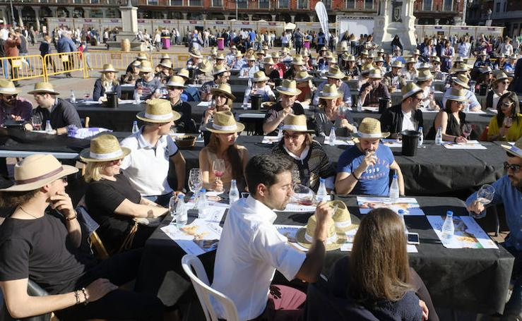 Jornada del sábado por la tarde de 'Valladolid, Plaza Mayor del Vino'