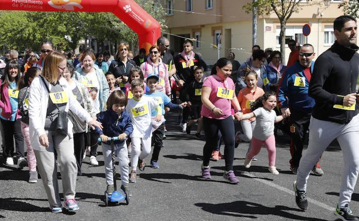 Carrera por la Salud Infantil en el barrio del Cristo