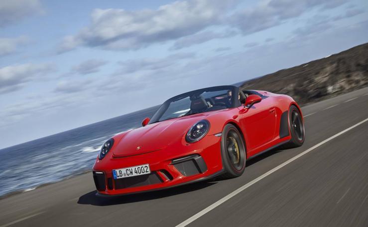 Los 510 CV del Porsche 911 Speedster, en imágenes