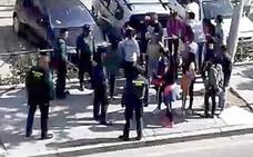 Una multitudinaria reyerta acaba con nueve detenidos y el destierro voluntario de un clan en Tordesillas