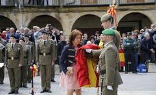 Herrera de Pisuerga acogerá el domingo una jura de bandera para personal civil