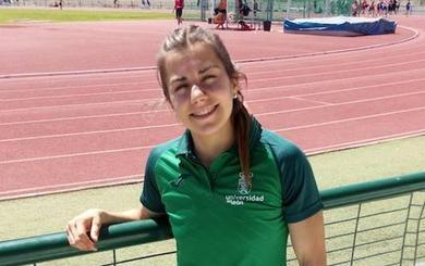 Sara Gómez, bronce en el nacional universitario