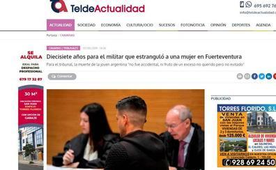 Condenado a 17 años el militar de Aldeamayor que asesinó a una mujer en Fuerteventura
