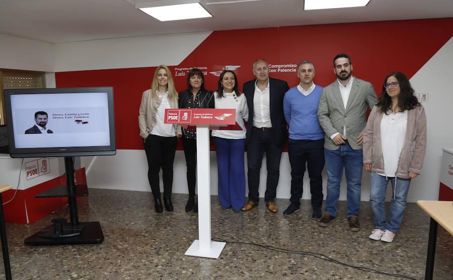 El PSOE de Palencia centra la batalla por la Junta en denunciar recortes en sanidad y educación