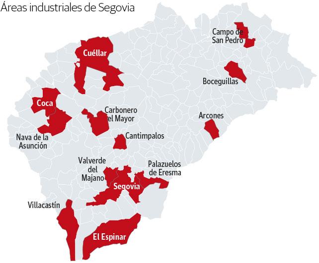 Áreas industriales de Segovia