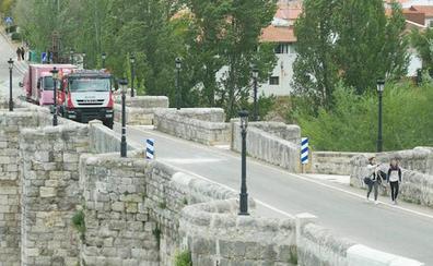 Cabezón de Pisuerga, un pueblo dividido en dos por el corte al tráfico de su puente