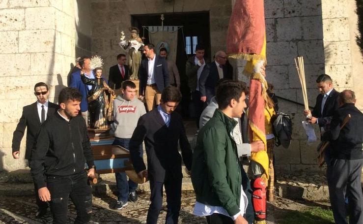 Procesión de San Miguel en Castrodeza