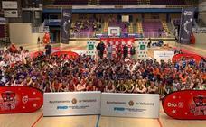 Valladolid vive dos grandes fiestas del baloncesto mini