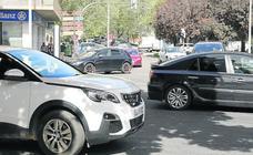 El 50% de los 130.869 vehículos del parque de Palencia, sin pegatina ambiental de la DGT