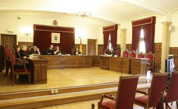 Sala de vistas de la Audiencia Provincial de Salamanca/WORD