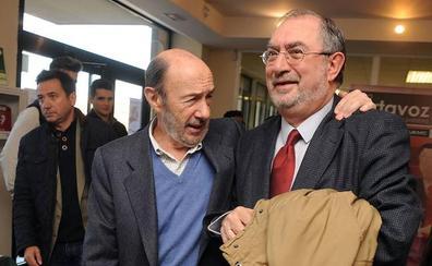 La dilatada relación de Rubalcaba con Valladolid