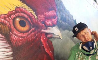 El arte urbano transforma Garcibuey en un nuevo atractivo turístico
