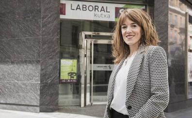 Eva Morón: «LABORAL Kutxa seguirá manteniendo una relación honesta y duradera con sus clientes»