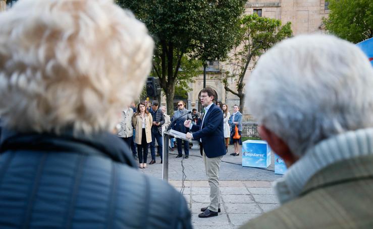 Arranque la campaña electoral en Salamanca