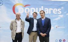 Mañueco apela a la gestión y la experiencia del PP en el primer acto de campaña