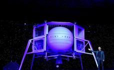 Jeff Bezos presenta el módulo de alunizaje de su compañía espacial Blue Moon