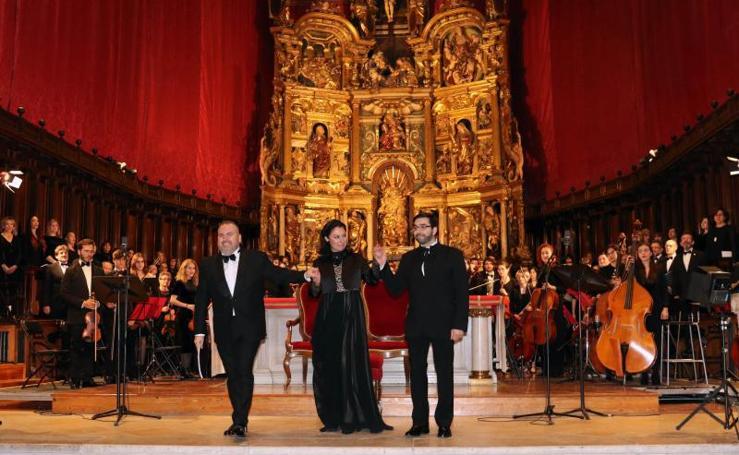 La cantata 'Ansur' cierra la serie de actos conmemorativos al fallecimiento del fundador de Valladolid