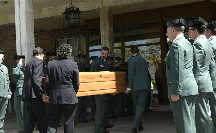 Capilla ardiente y funeral del guardia civil fallecido en el III Trofeo Villa de Mojados