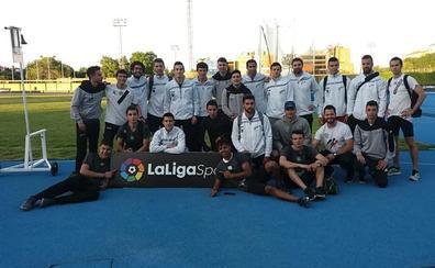 El Caja Rural Atlético Salamanca, cuarto en la primera jornada de la Liga de División de Honor masculina