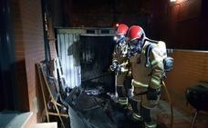 Una mujer resulta herida en el incendio de una caseta de jardinería en Valladolid