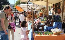 Mercado Castellano en la plaza de San Pablo de Valladolid