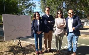 El PP aspira a conectar Garrido y El Rollo con un nuevo carril bici y senda peatonal