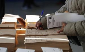 Una errata de la junta electoral confunde las siglas de Izquierda Unida en Segovia y la llama 'IZ'