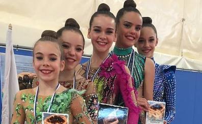 El Rítmica Salamanca mete a sus cinco gimnastas en el Nacional tras un gran Regional