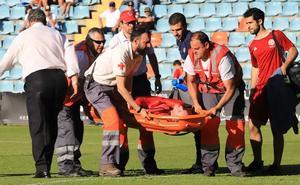 El jugador del Inter que dio el susto en el Helmántico, dado de alta en el hospital de Salamanca