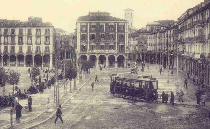 Estampas del Valladolid antiguo (II): transportes urbanos