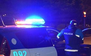 Un conductor para detrás de una patrulla que intervenía en otro positivo y cuadruplica la tasa de alcohol en Valladolid