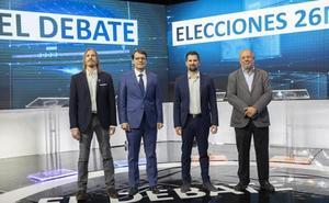 Todos contra Mañueco en un debate previsible que solo subió de tono con la corrupción