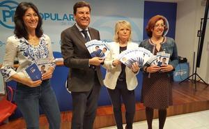 Carriedo sitúa al empleo y los servicios públicos en el eje del programa del PP para Palencia