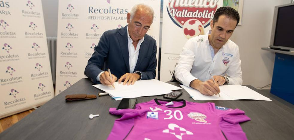Recoletas seguirá dos años más ligado al Atlético Valladolid