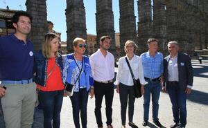 El PP de Segovia promete aprobar la ordenanza de protección del Acueducto en los primeros cien días de gobierno