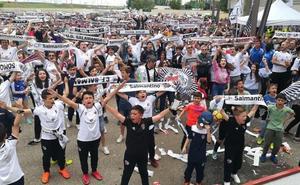 El Salamanca CF anuncia una Fan Zone en el Parking del Fondo Norte para seguir su partido... con Unionistas jugando en Las Pistas