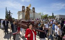 Procesión en honor a San Isidro