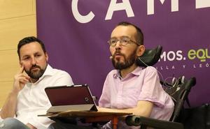 Echenique: «Los poderosos temen a Podemos porque defendemos al ciudadano»