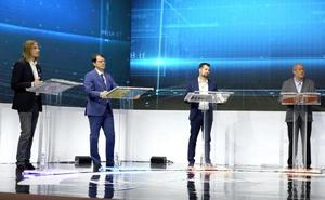 Cuatro candidatos con dos claros modelos fiscales para el 26-M