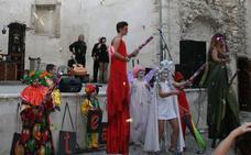 Festeamus hace visible en Cuéllar el arte de las personas con discapacidad