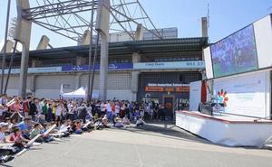 La Subdelegación no tiene conocimiento oficial de la Fan Zone del Salamanca CF y cita a los presidentes de los clubes