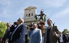 Los agricultores de Palencia se encomiendan a San Isidro para salvar la cosecha