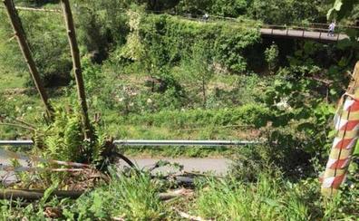 Los pueblos de los Valles del Oso sobre la muerte de un ciclista segoviano: «No pusimos la valla donde cayó por falta de dinero»